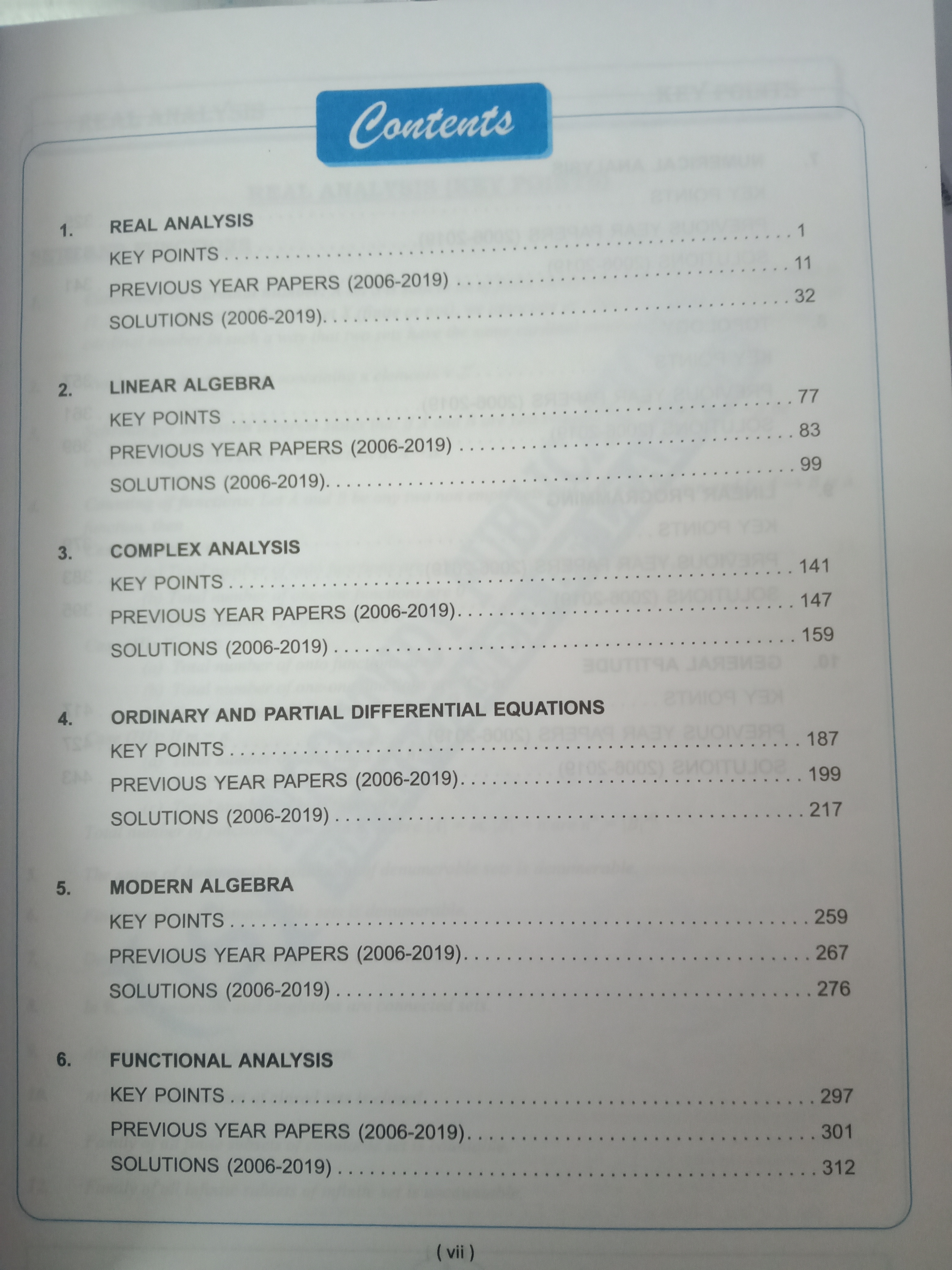 GATE Maths Previous Year Papers