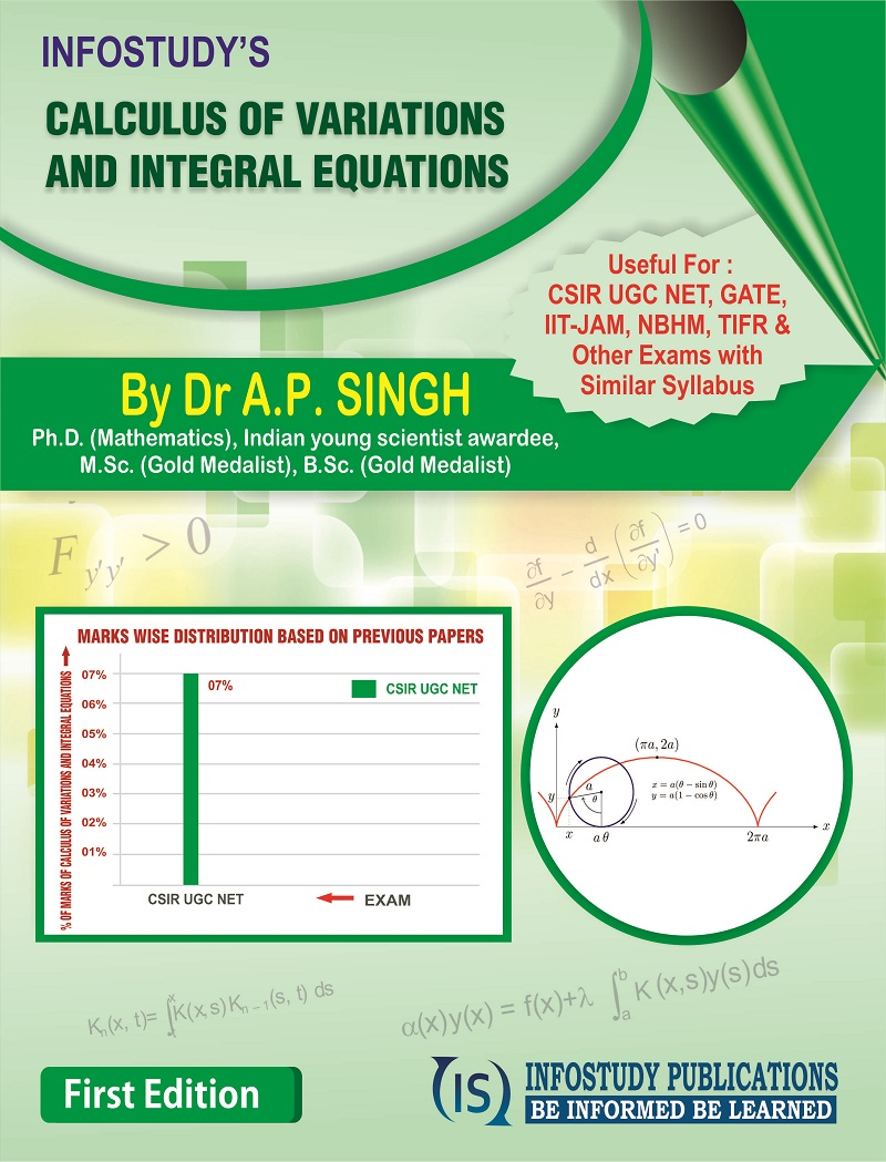 CALCULUS OF VARIATIONS AND INTEGRAL EQUATIONS | Infostudy Publications