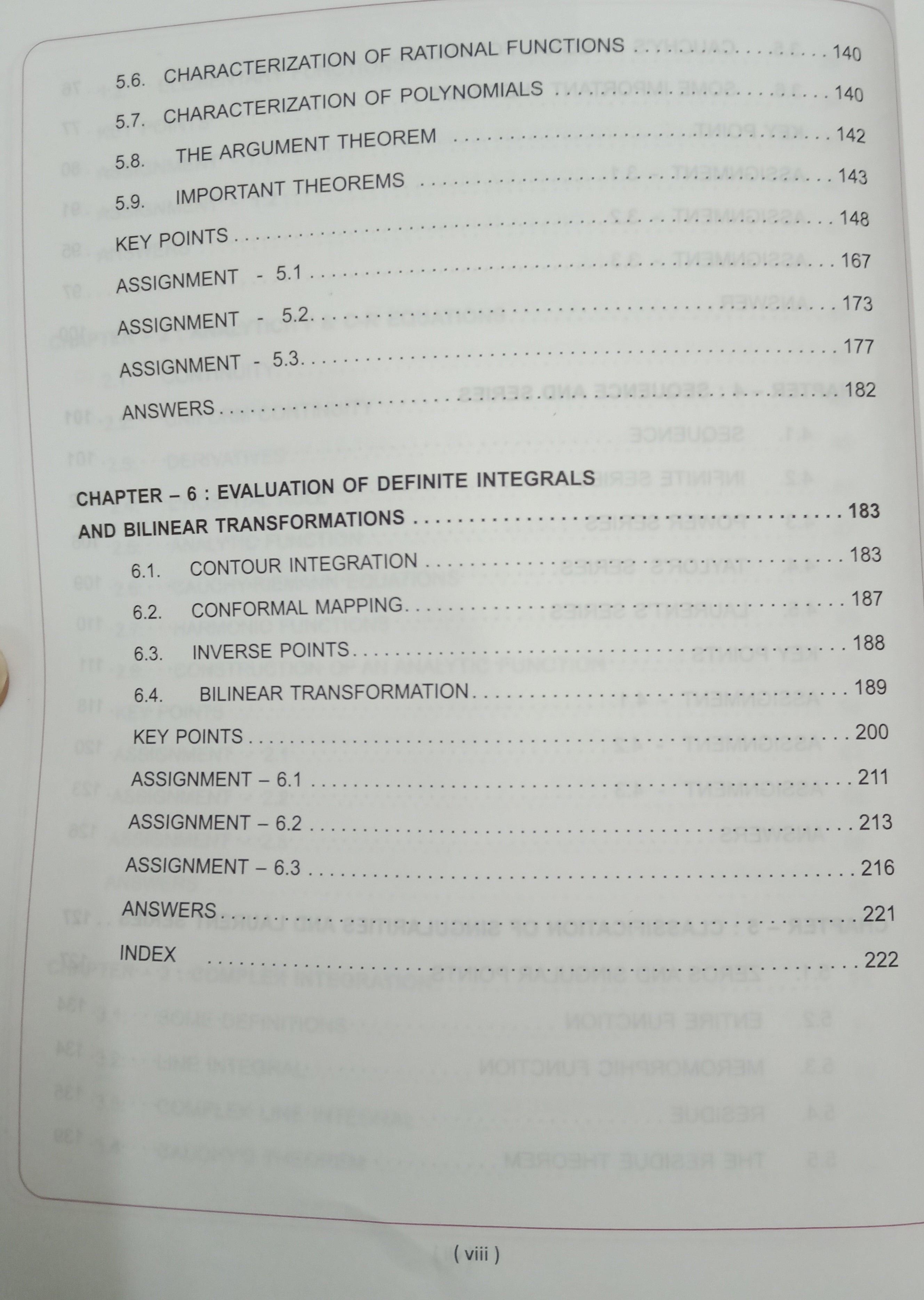 complex algebra 2nd edition