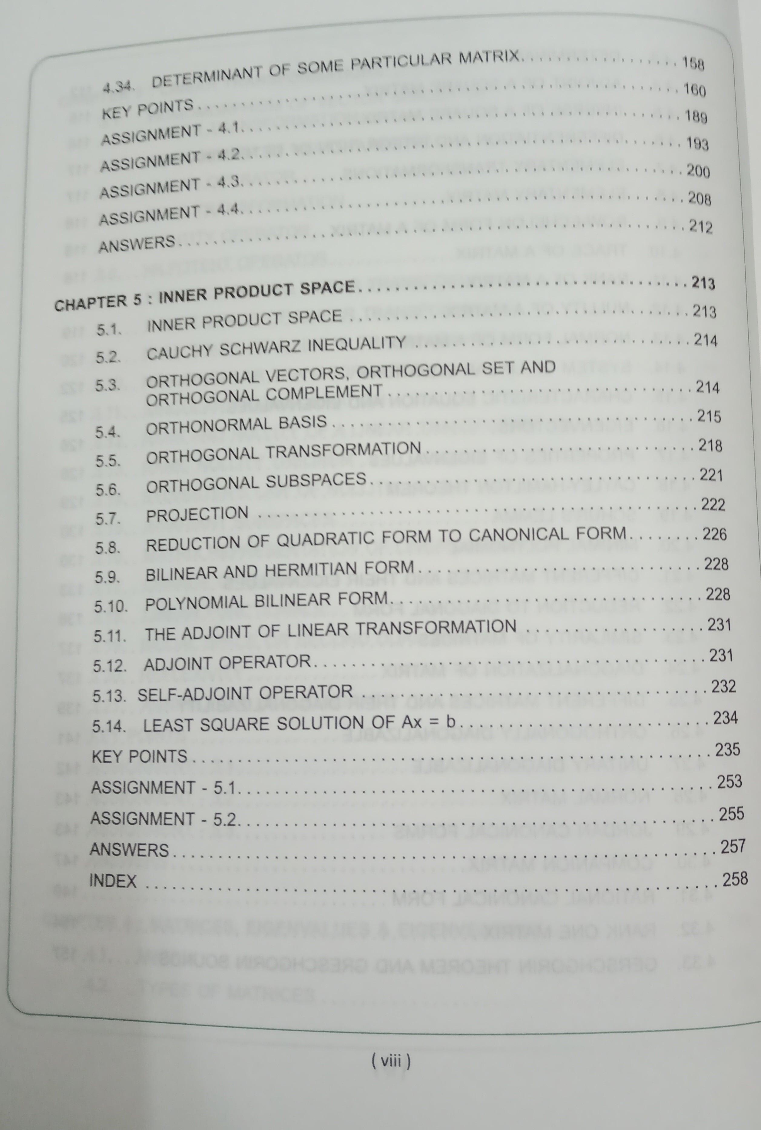 linear algebra 2nd edtition