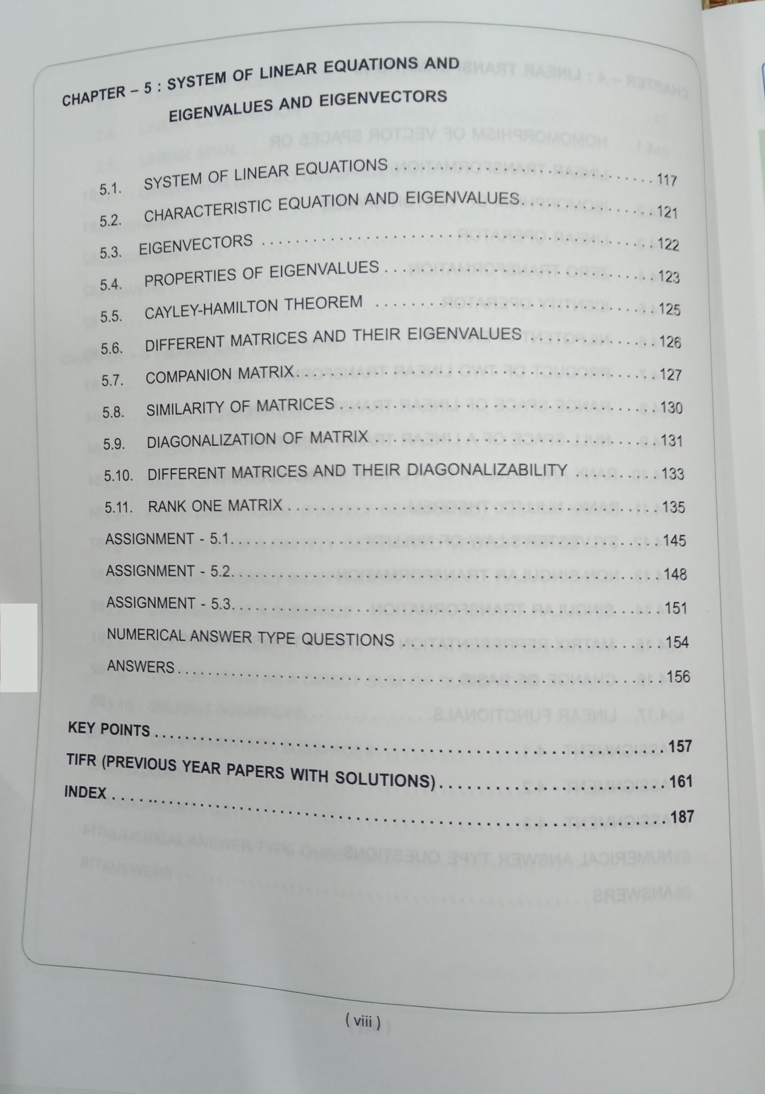 linear algebra 1st edition